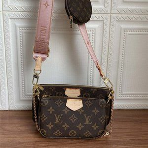 LV44823 Louis Vuitton Multi Pochette Monogram Tas